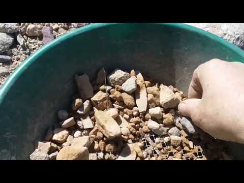 Mountain Prospecting For Gold pt 1