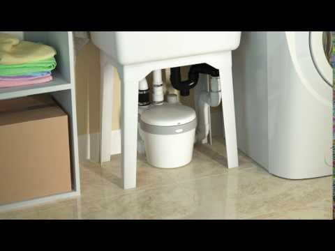 Saniflo let you decide where to install your laundry room!