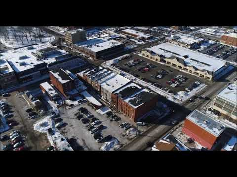 Aerial Painesville City II (winter)