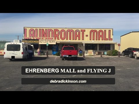 Mail, Propane, Laundry and Showers in Ehrenberg AZ