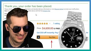 Scammers Don't Like When You Buy Rolex Watches