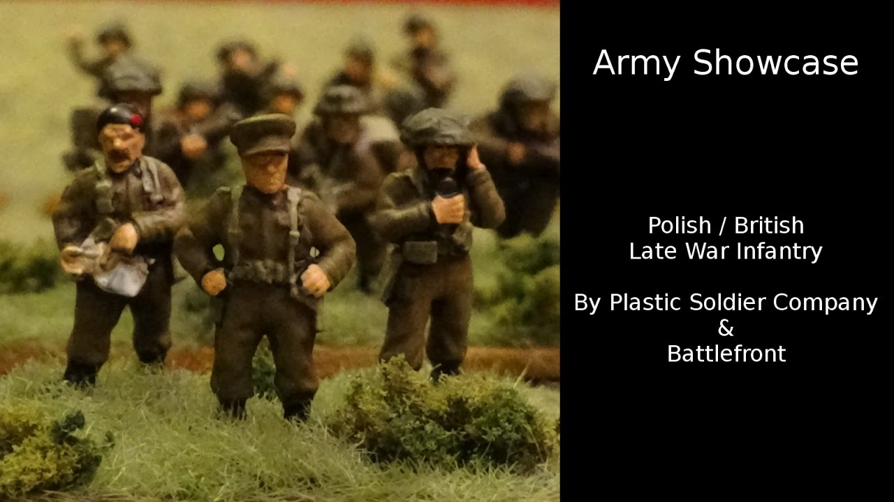 Late War British Infantry 1944-45 15mm Miniatures