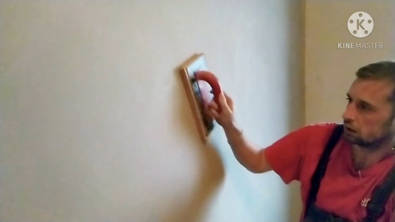 Download Jak na štukování zdi keraštukem a následné filcování omítky.