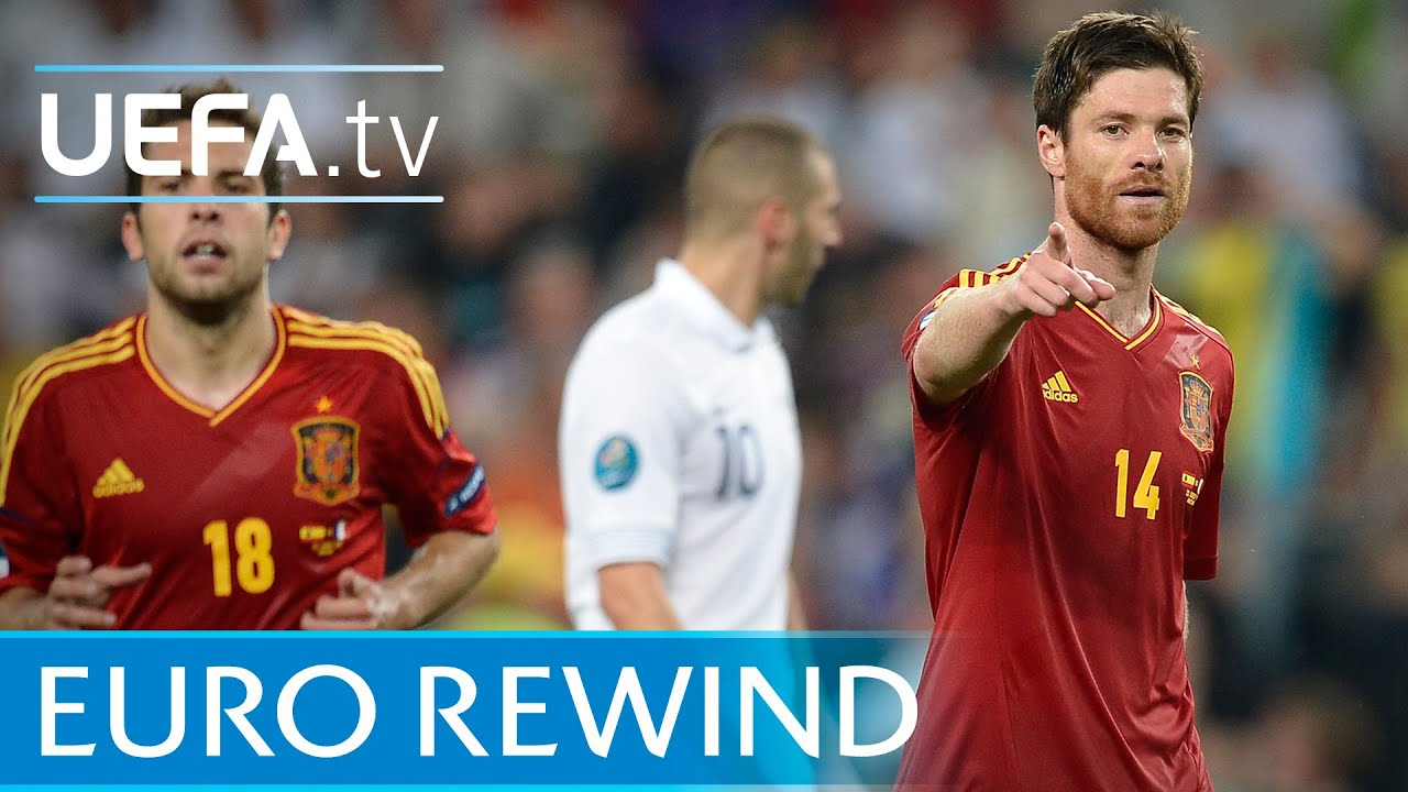 UEFA EURO 2012 highlights: Spain 2-0 France - YouTube