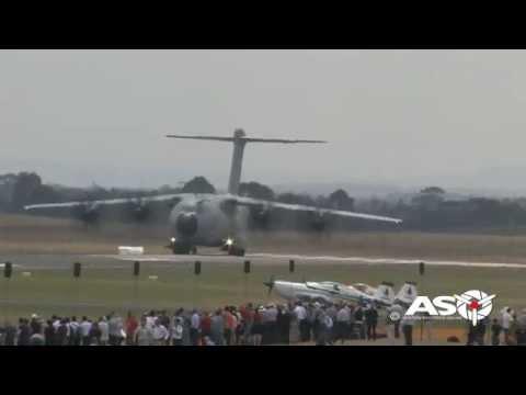 Airbus A400M Atlas  Australian International Air Show 2015