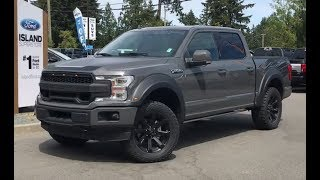2018 ROUSH Ford F-150 Lariat Sport Technology V8 SuperCrew Review| Island Ford