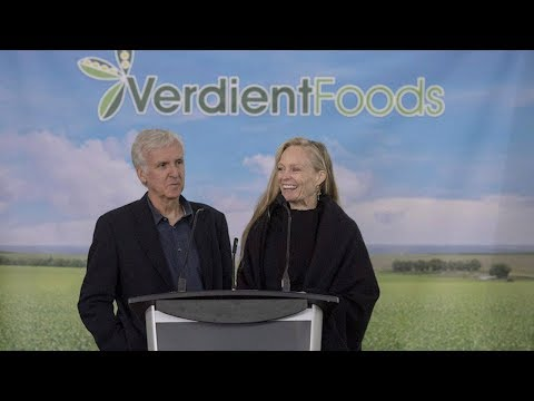 James Cameron invests in Saskatchewan pea-processing plant