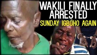 Breaking-WAKILI Finally @rrested!Sunday igboho Again