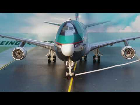 JC Wings 200 Cathay Pacific Cargo B747-400 BCF(Silver Bullet Livery)Review FHD(Full High Definition)