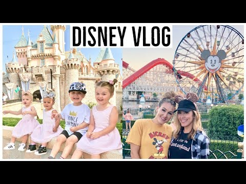 FOUR KIDS AT DISNEYLAND?! 👧🏼👦🏼👶🏻👶🏻 | WHAT IT'S REALLY LIKE | Brianna K  + Tara Henderson Collab!