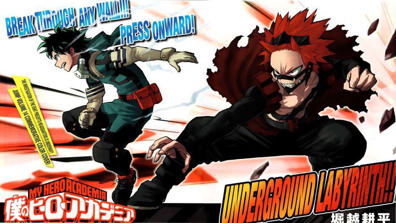 Boku no hero academia review brutal gamer - Boku No Hero Academia Chapter 142 Manga Live Reaction Steel Resolve