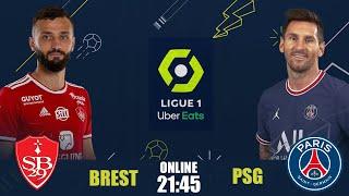 Брест ПСЖ Чемпионат Франции Онлайн Трансляция
