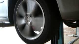 Mazda 6 проверка промежуточного подшипника привода
