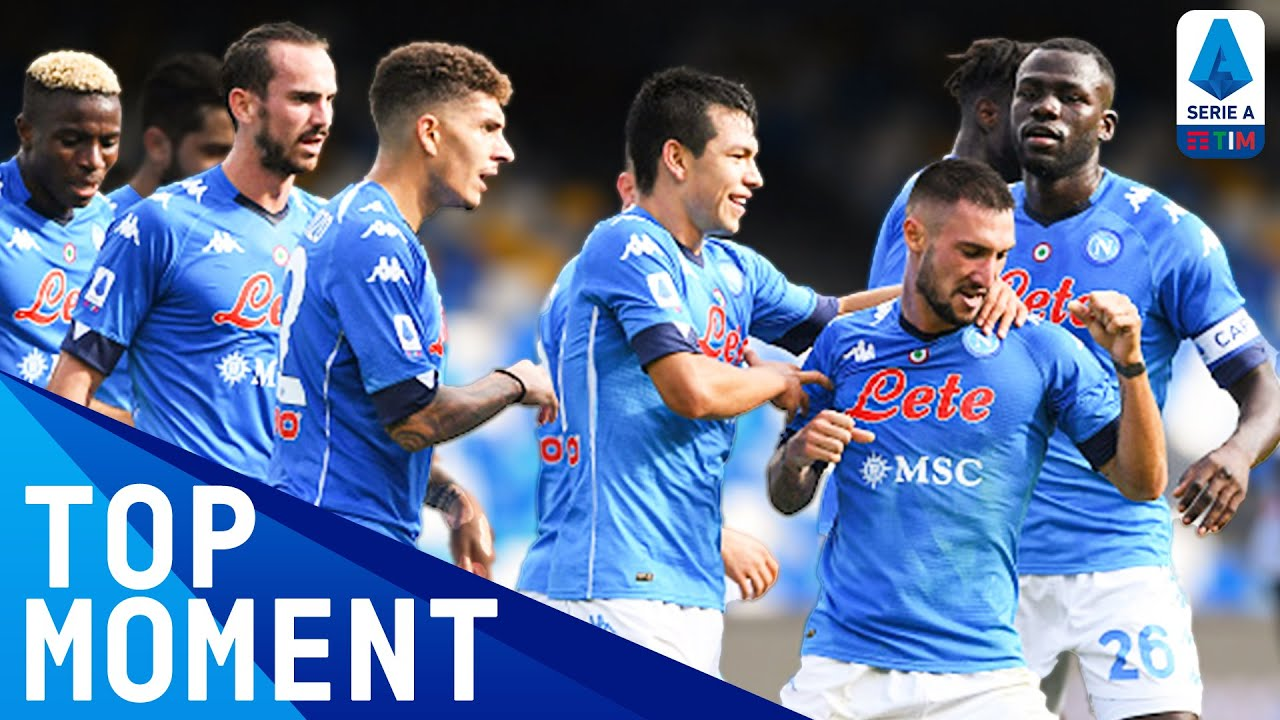 Politano Thunders Home Excellent Team Goal! | Napoli 4-1 Atalanta | Top Moment | Serie A TIM