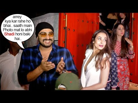 Arjun Kapoor BLUSHES As He Gets Seen With Girlfriend Malaika Arora Before MARRIAGE This Year