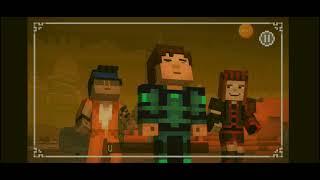 minecraft story mode season two/capitulo#15/golem de magma