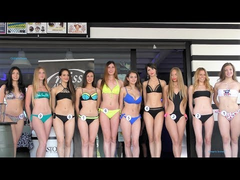 Miss Alpe Adria 2017 Sfilata Casual, Abito, Bikini 1^ Selezione Caffè Madame