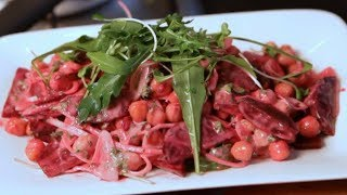 How To Make Beetroot, Chickpeas & Silver Onion Salad By Vicky Ratnani
