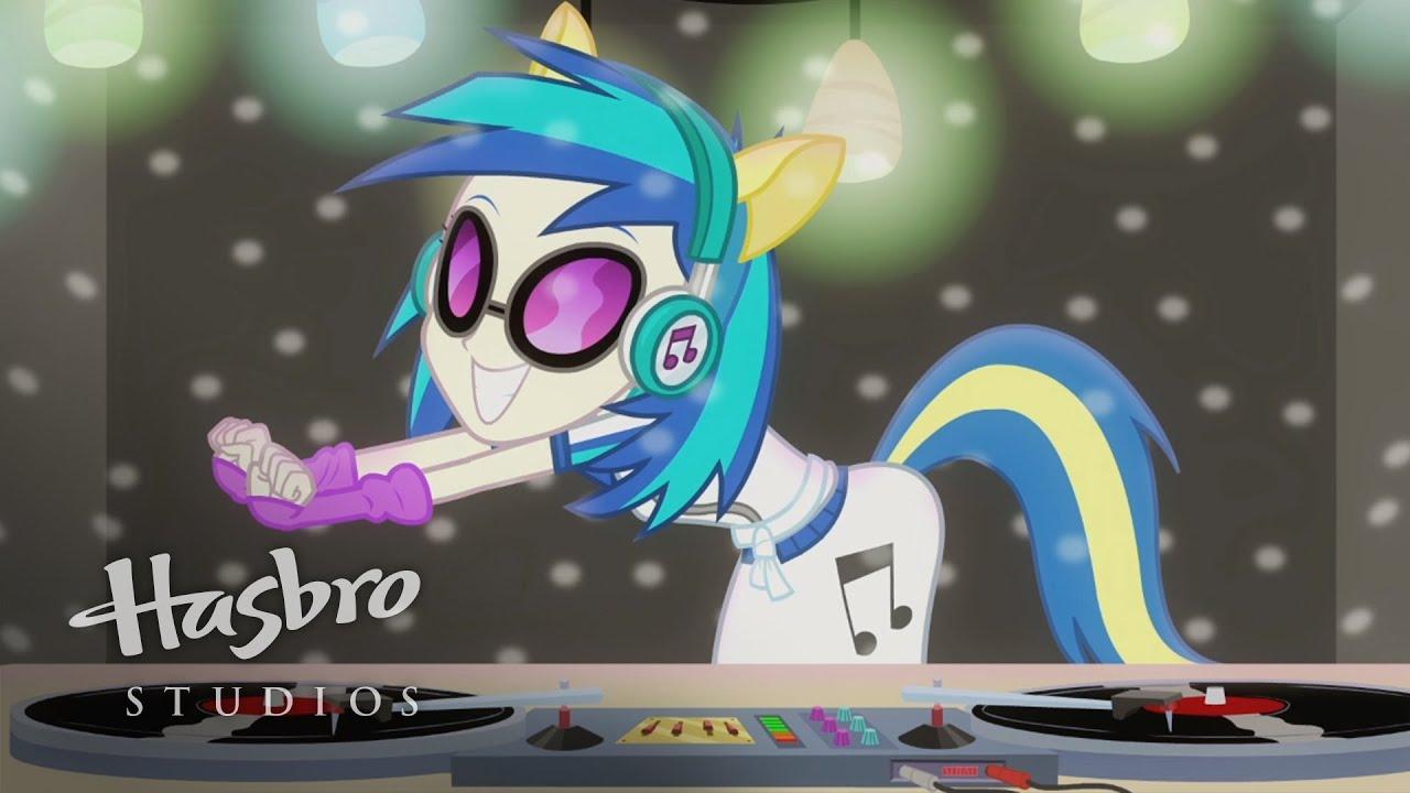 Mlp Equestria Girls Rainbow Rocks Who Is Dj Pon 3