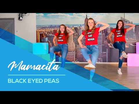 Black Eyed Peas - Mamacita - Very Easy Fitness Dance - Choreography - Baile