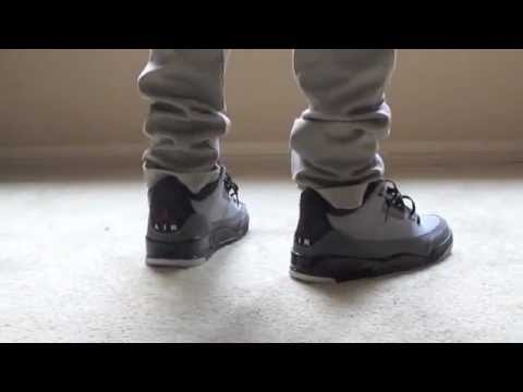 37372964723c Jordan Stealth 3 s (ON FEET) - YouTube