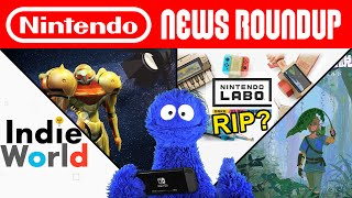Indie World, Return of the Retro Hires, Labo Done For? | NINTENDO NEWS ROUNDUP