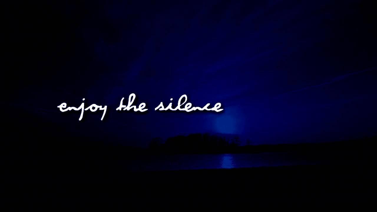 Depeche Mode - Enjoy The Silence - YouTube