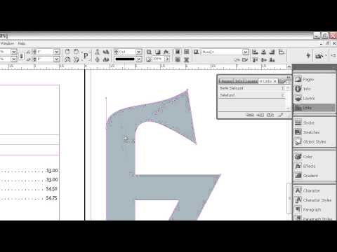 indesign how to add fill