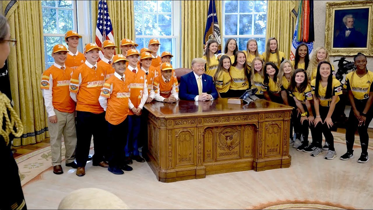 The White House President Trump Welcomes The Little League World Series Champions ⚾️