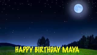 Maya - Moons - Happy Birthday