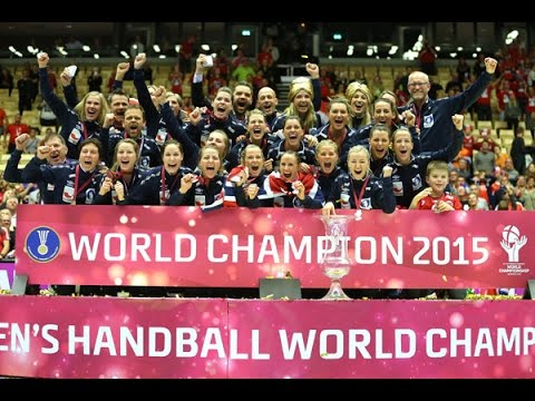 Netherlands VS Norway Handball final Women's  World Championship Denmark 2015