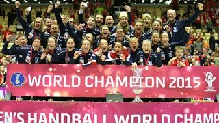 Netherlands VS Norway Handball final Women