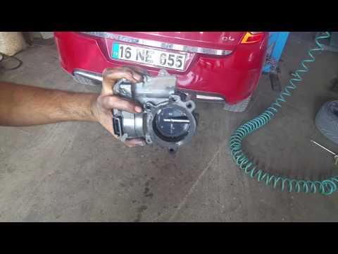 Citroen C4 Gaz Kelebeği Temizlik ve Kalibrasyonu