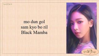 album cover aespa에스파-BlackMambaEasy