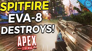 I've Never Carried A Game This Hard...Spitfire and Eva-8 Combo Is INSANE! Apex Legends (Gameplay)