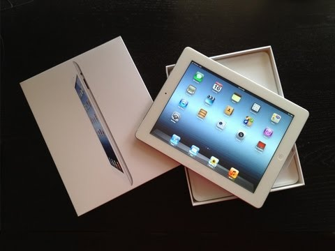 New 3rd-Generation iPad Unboxing And Setup (iPad 3)