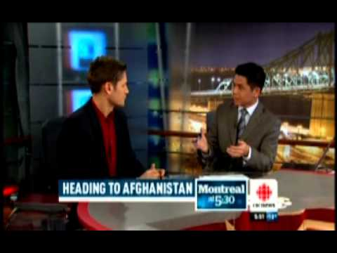 CBC News journalist Peter Akman's assignments in Afghanistan