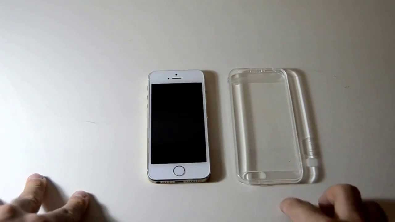 cover trasparente iphone 5s gold