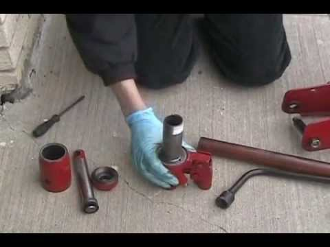 Cheap Floor Jack Hydraulic Unit Disassembly Before