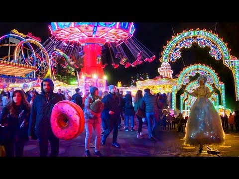 WINTER WONDERLAND at London's Hyde Park ❄️ WALK TOUR incl. Santa's Parade of Light