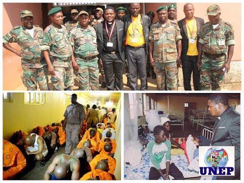 UNEP Mission – Visite à la Prison de Songo|Ev. Serge Miguel