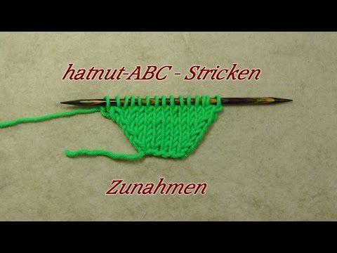 hatnut-ABC – Stricken lernen – Zunahmen – Veronika Hug