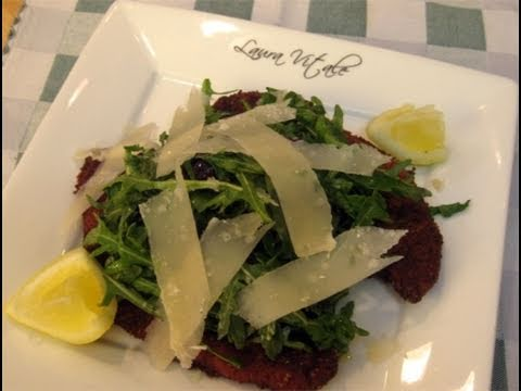 Chicken Milanese with Spring Greens Recipe | Doovi