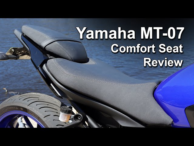 Yamaha MT-07 (Genuine) Comfort Seat Review