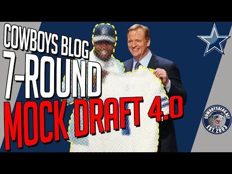 Dallas Cowboys 7-Round Mock Draft | Cowboys Blog Mock Draft 4.0
