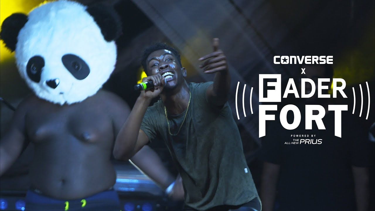 "Desiigner – ""Panda"" – Live at The FADER Fort Presented By Converse"