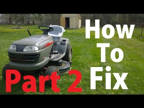 How to Fix a Smoking Crafstman Lawn Tractor