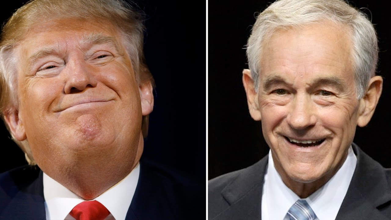 interview ron paul on president trump youtube