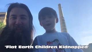 Apple the 6 Year Old Flat Earth Child who was Kidnapped Proves the Earth is Flat.