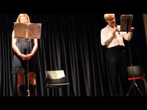 Claudio Botosso e Benedicta Boccoli - Reading poesie di Cristina Mosca a Castel del monte